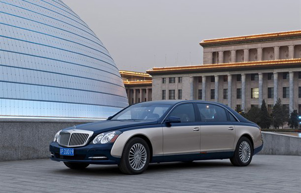 Official photos with Maybach Facelift