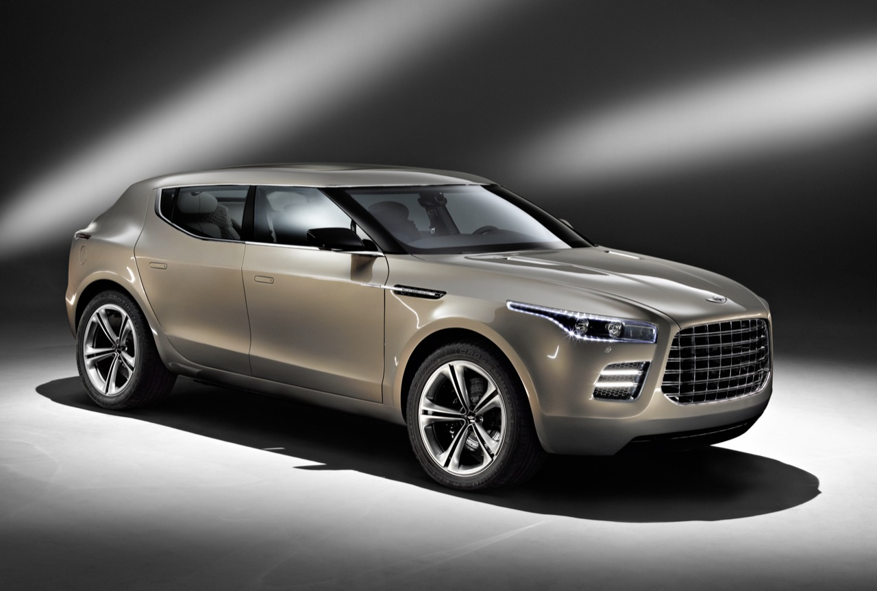 The Aston Martin Lagonda will enter production
