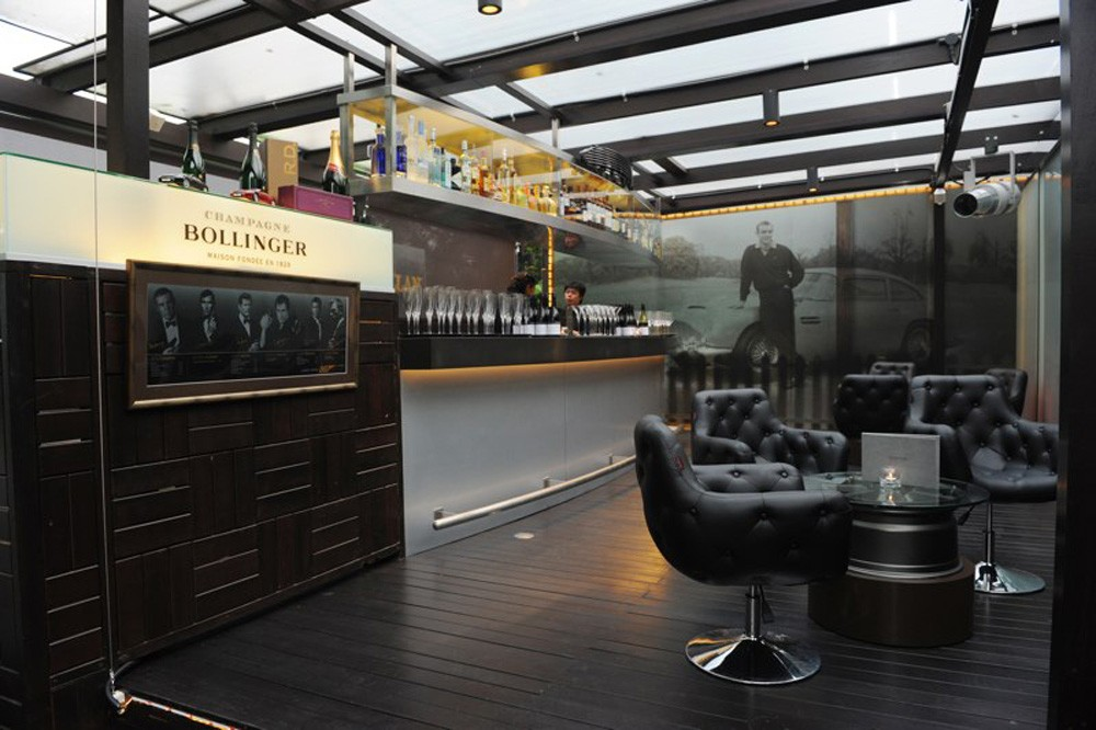 The new Aston Martin&#8230; Club Lounge
