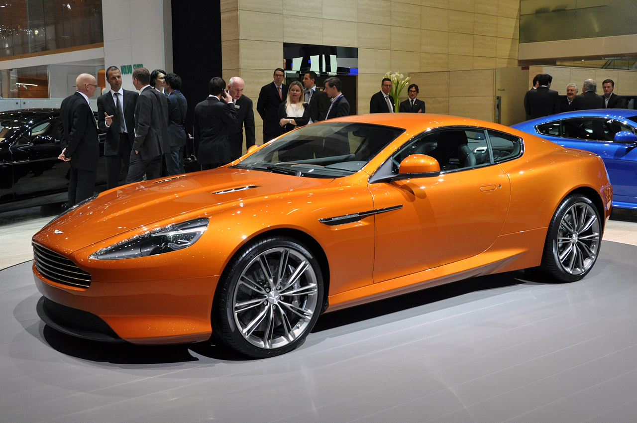 2012 Aston Martin Virage is fully revealed in Geneva