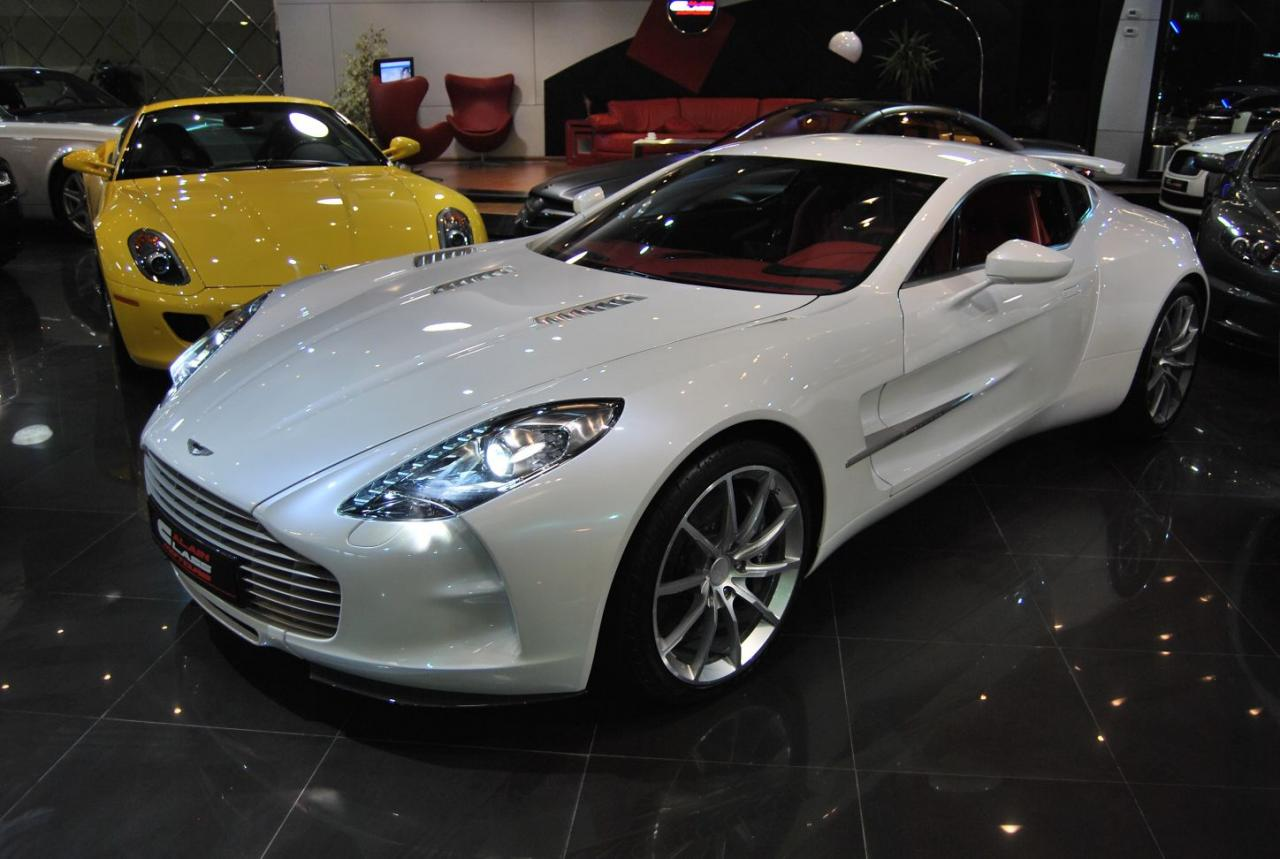 A perfect example of the Aston Martin One-77 is for sale