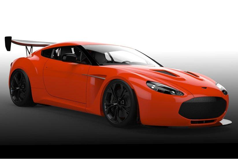 Aston Martin V12 Zagato goes racing
