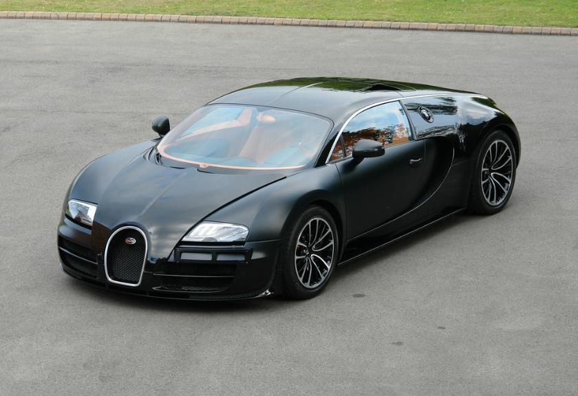 Bugatti Veyron Super Sport listed for sale