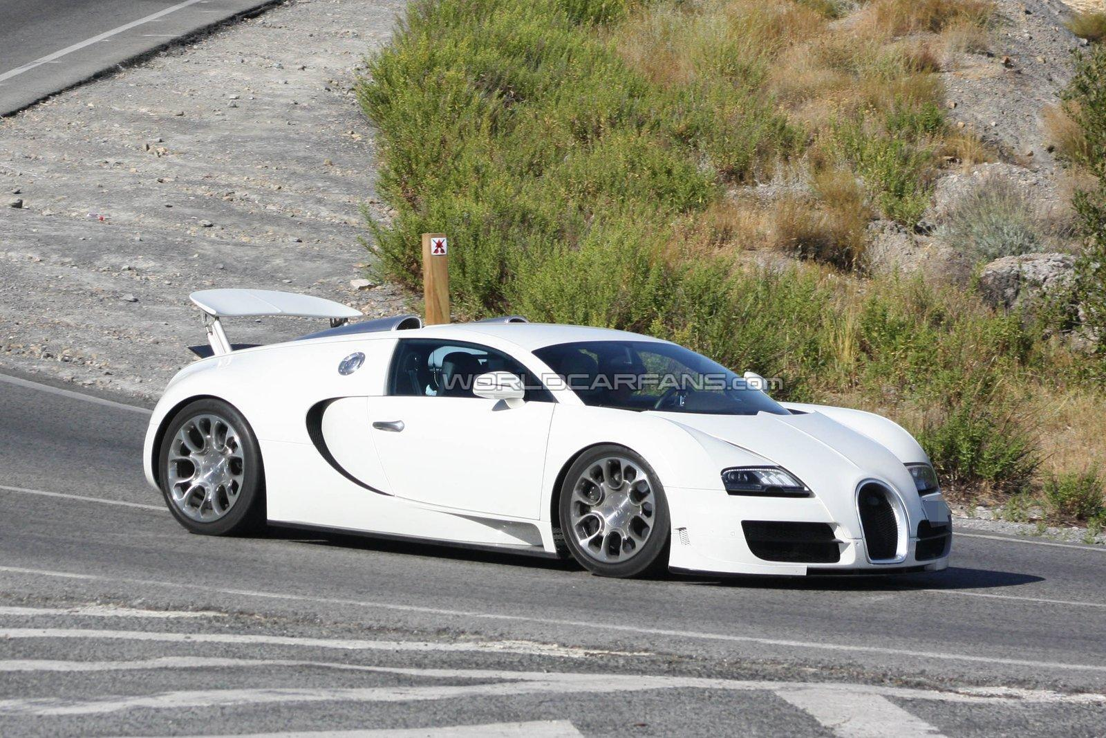 Bugatti Veyron Grand Sport SS spied