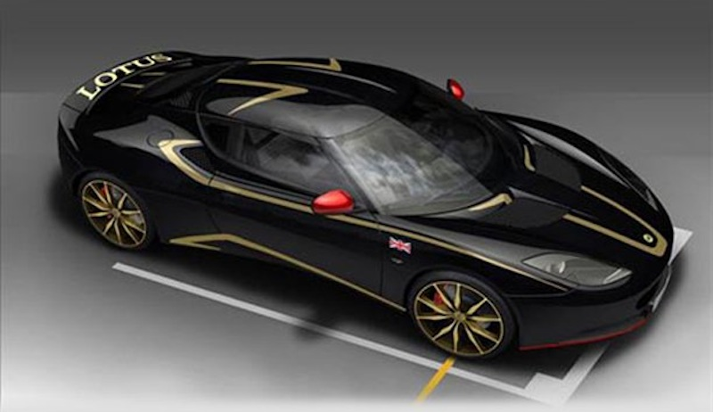 2012 Lotus Evora S GP Edition offers up some F1