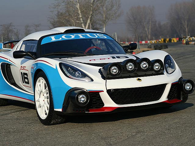 Lotus Exige R-GT hits the track