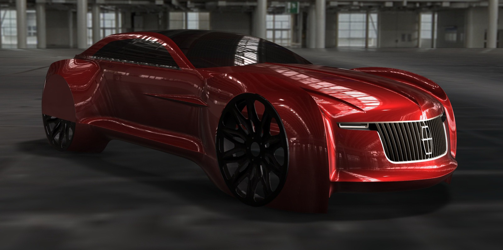 Student design: 2025 Lincoln Continental EV