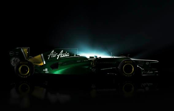 Caterham presents CT01, a 2012 F1 car