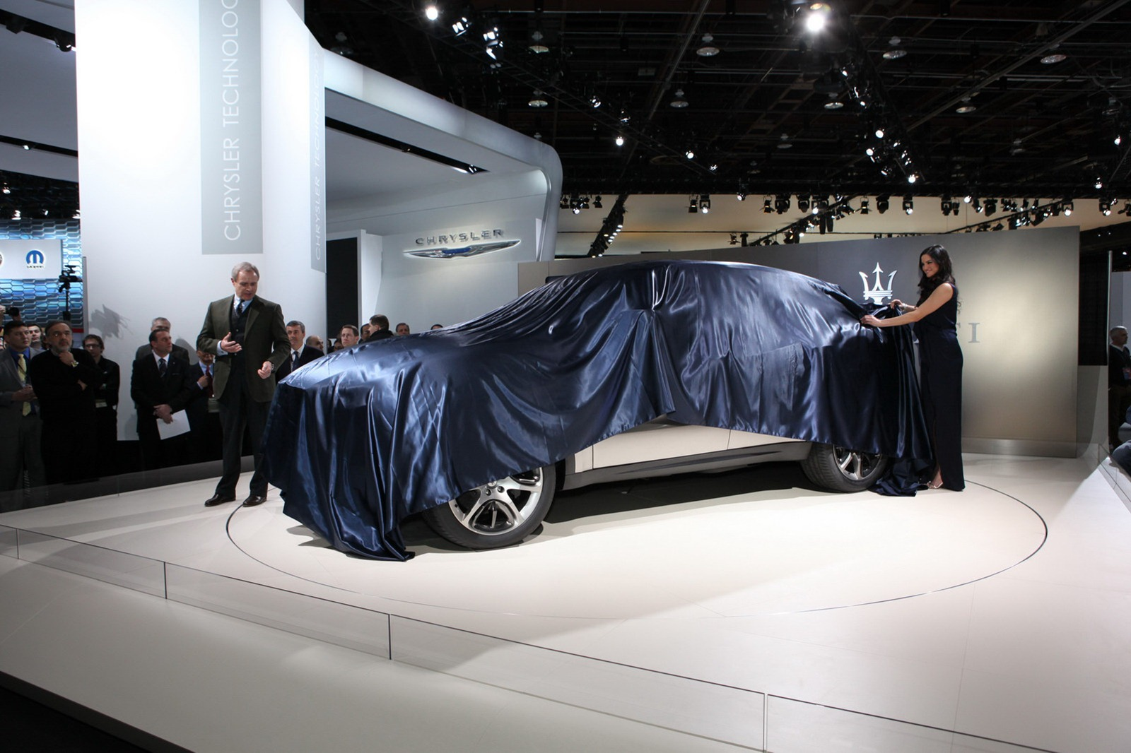 Maserati Kubang unveiling