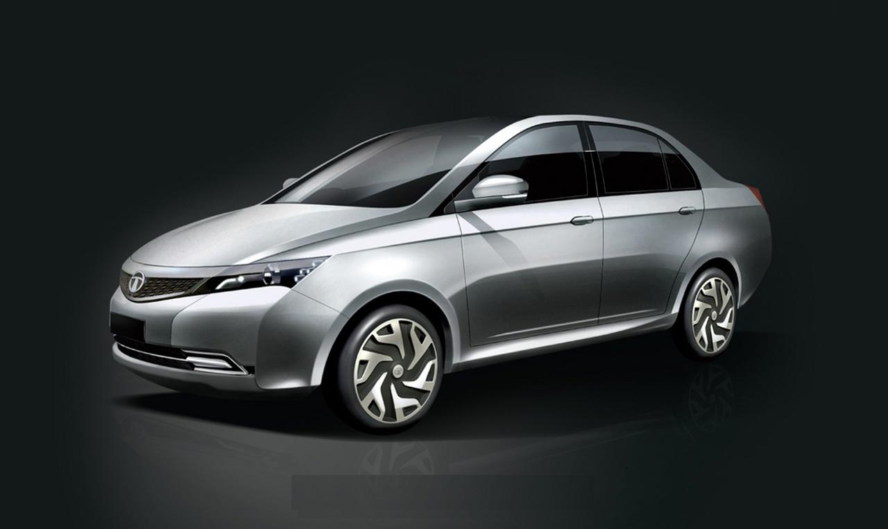 Tata Manza Hybrid Concept unveiled