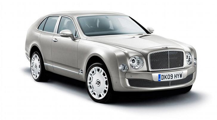 Bentley SUV render