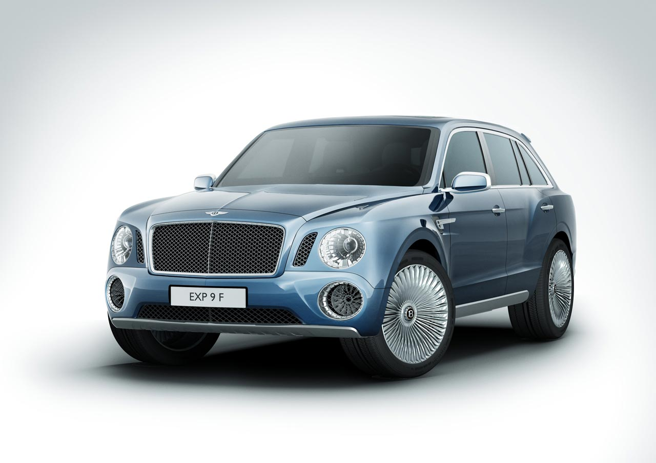 Bentley SUV will be entered in the Dakar Rally