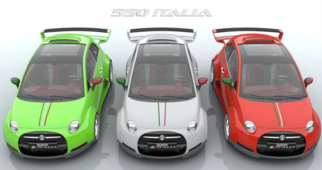 Lazzarini Design Fiat 550