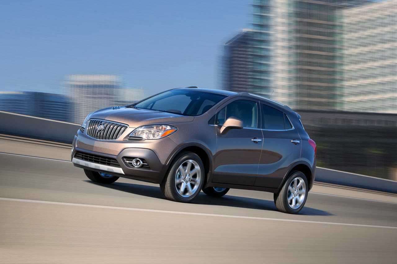 2013 Buick Encore pricing announced
