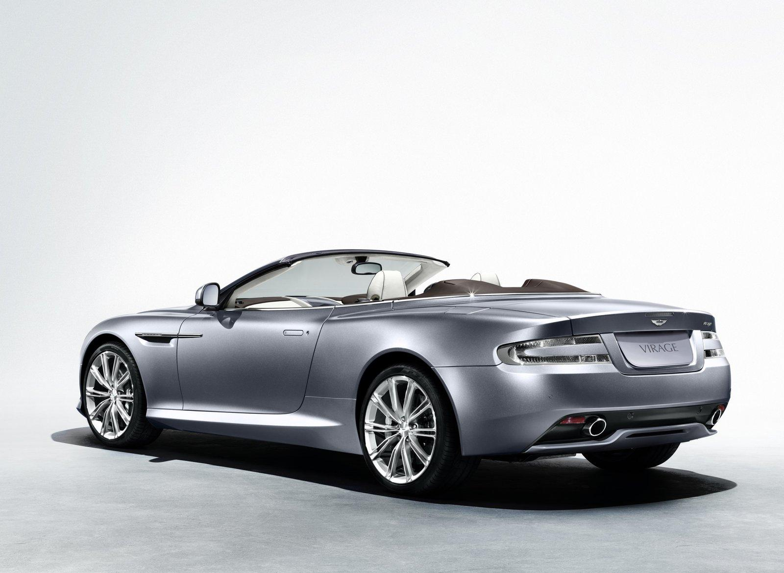 Aston Martin Virage convertible