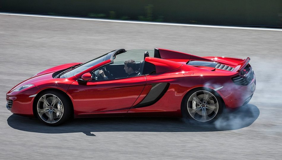 McLaren MP4-12C Spider
