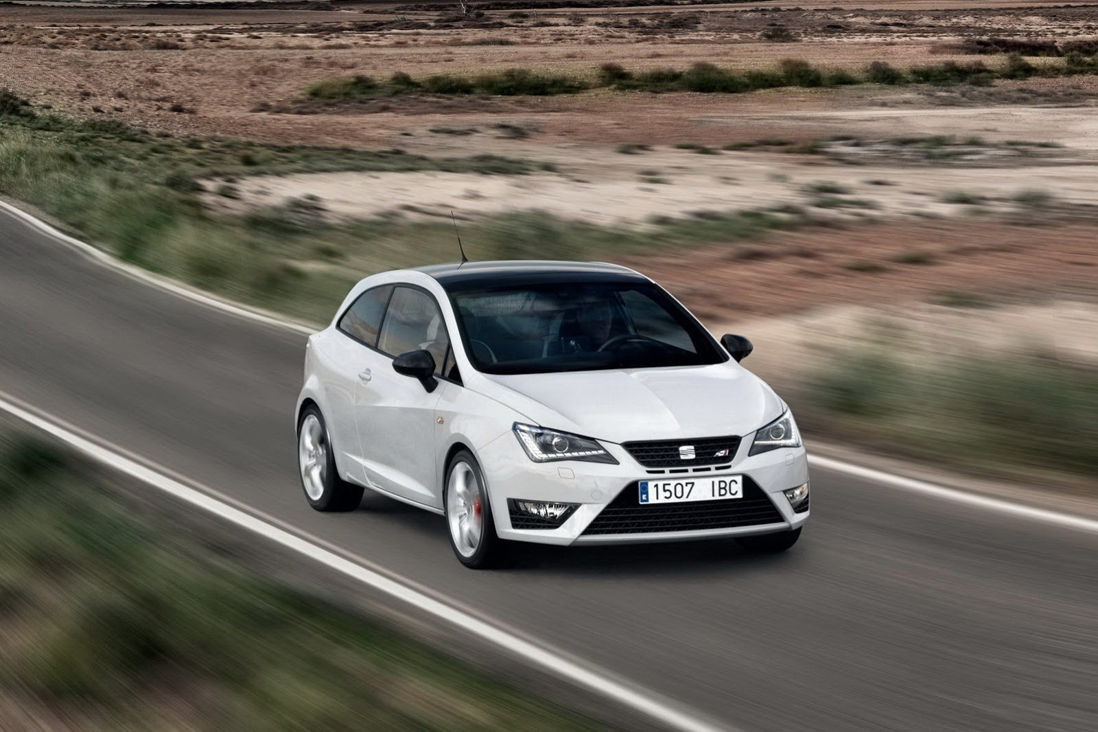2013 Seat Ibiza Cupra in the spotlight