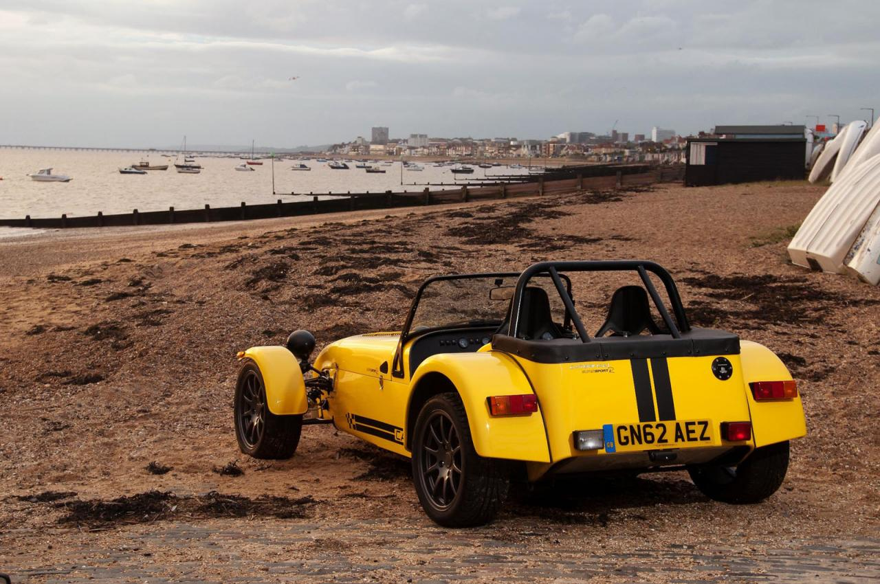 Caterham unveils the Supersport R in the UK