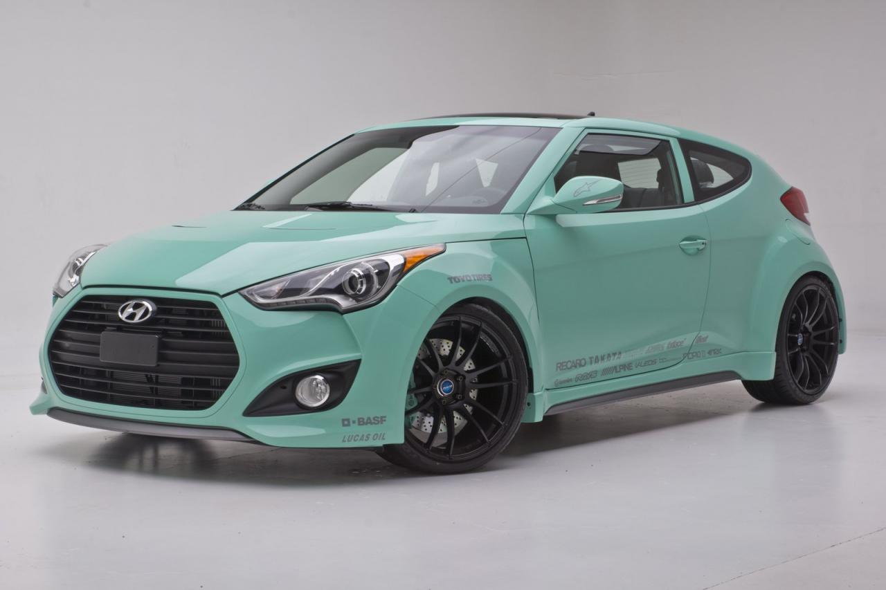 Hyundai JP Edition Veloster Concept at SEMA