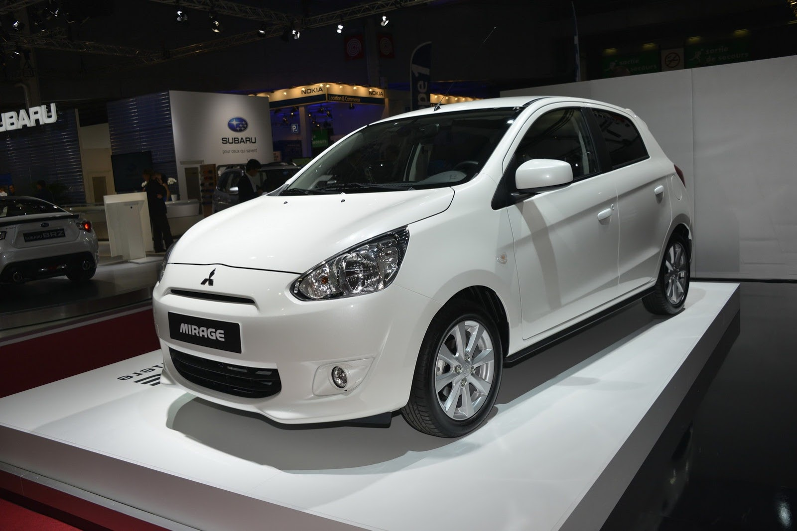 Mitsubishi introduces Mirage compact to the US market