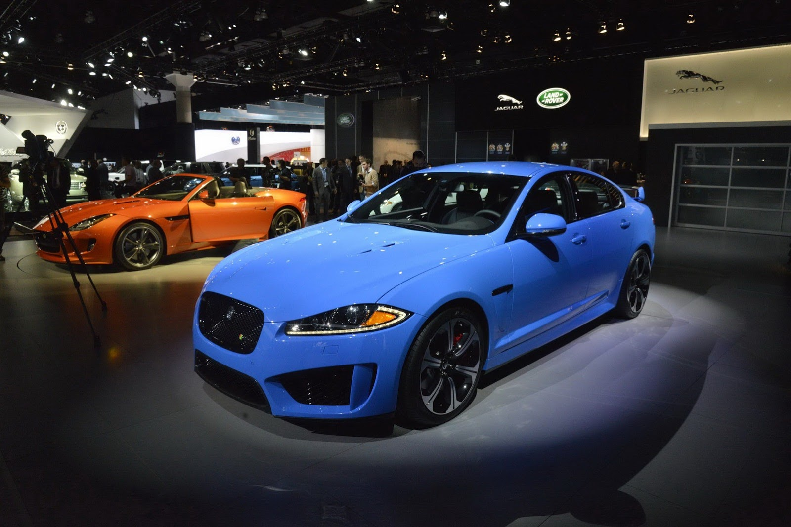 All-new Jaguar XFR-S hits Los Angeles