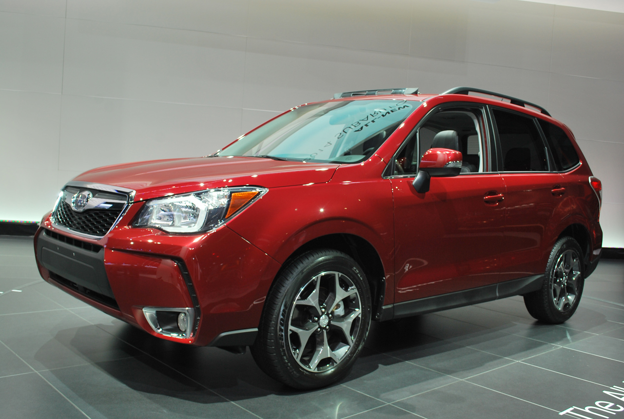 2014 Subaru Forester off to great success in Japan
