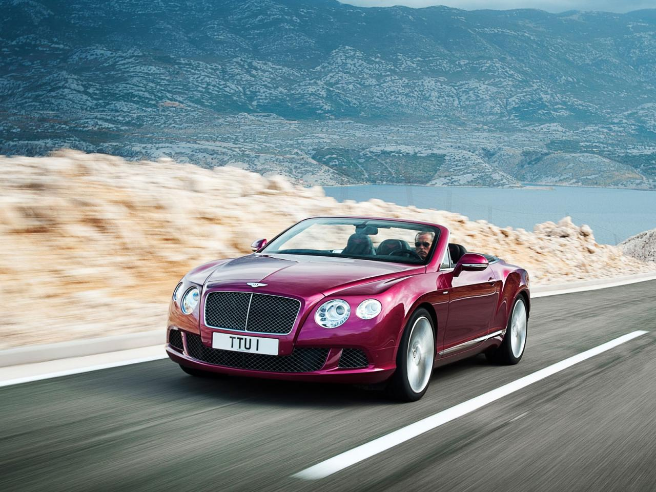 The new Bentley Continental GT Speed Convertible hits the web