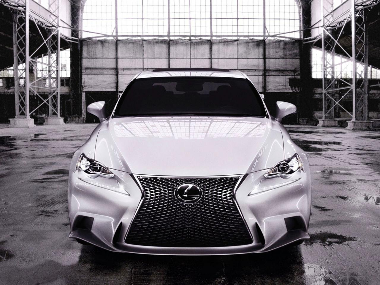 All-new 2014 Lexus IS officially unveiled
