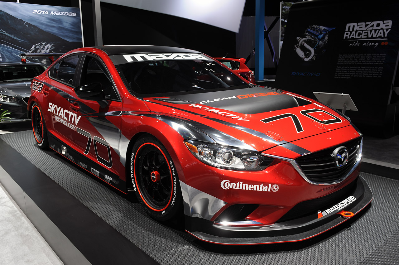 Mazda6 diesel racer unveiled in Detroit