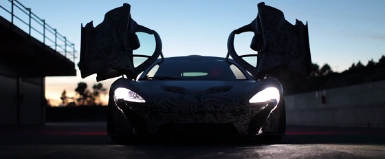 McLaren releases official P1 video teaser