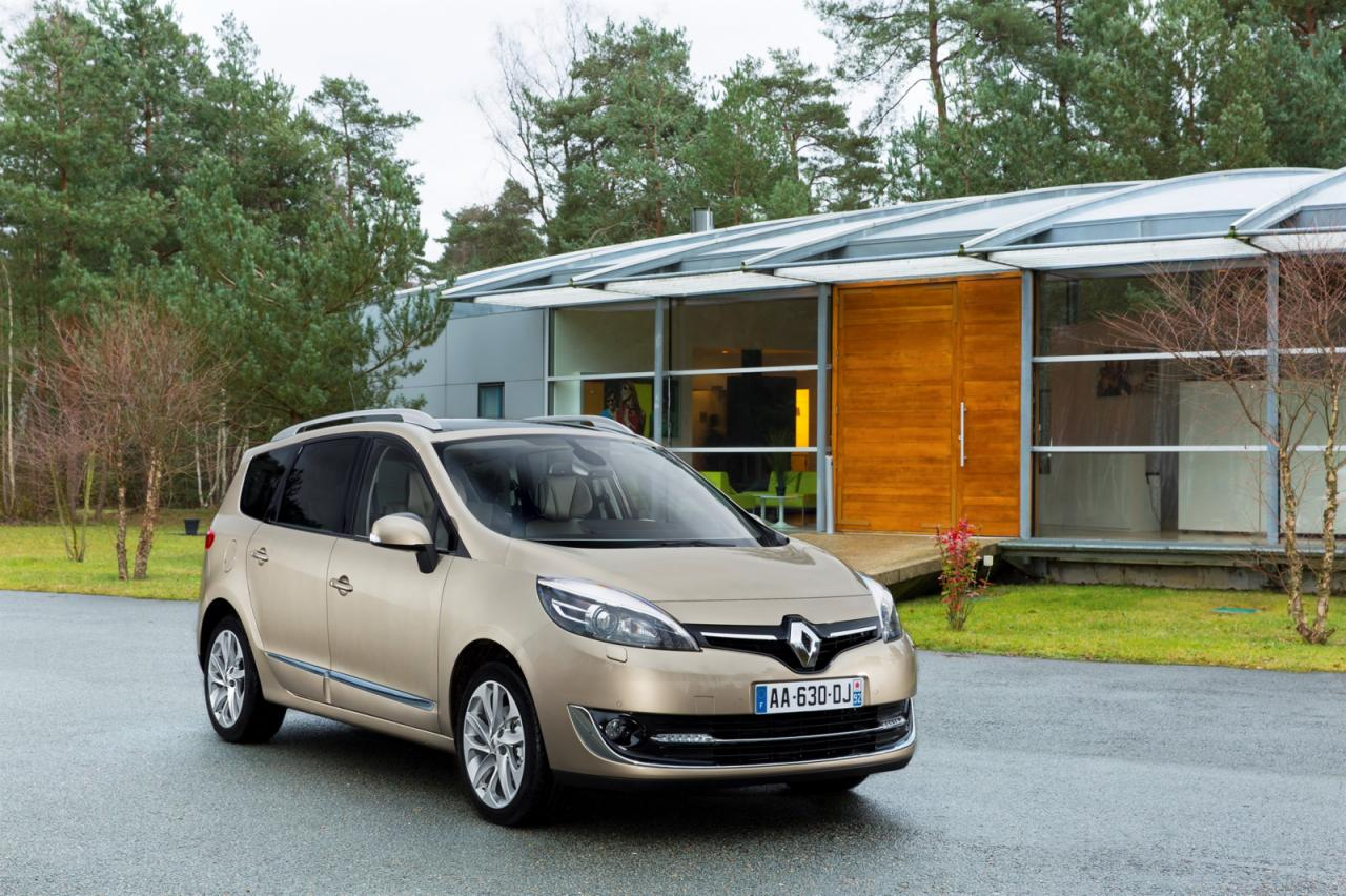 Renault reveals facelift versions for Scenic and Grand Scenic