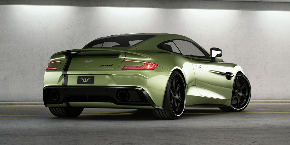 Wheelsandmore restyles the Aston Martin AM 310 Vanquish