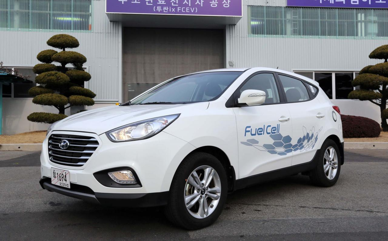 Hyundai ix35 Fuel Cell receives green light for production