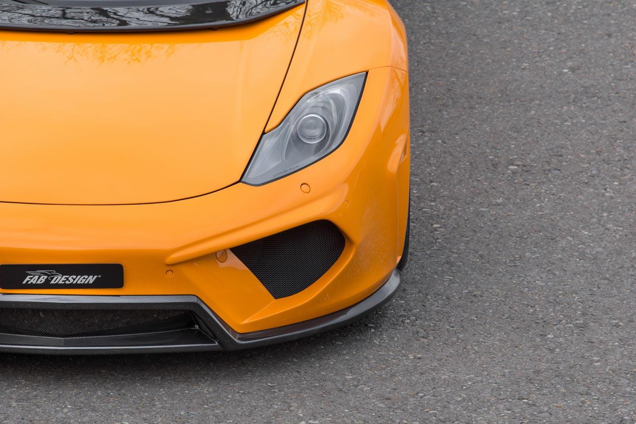 FAB Design tunes the McLaren MP4-12C