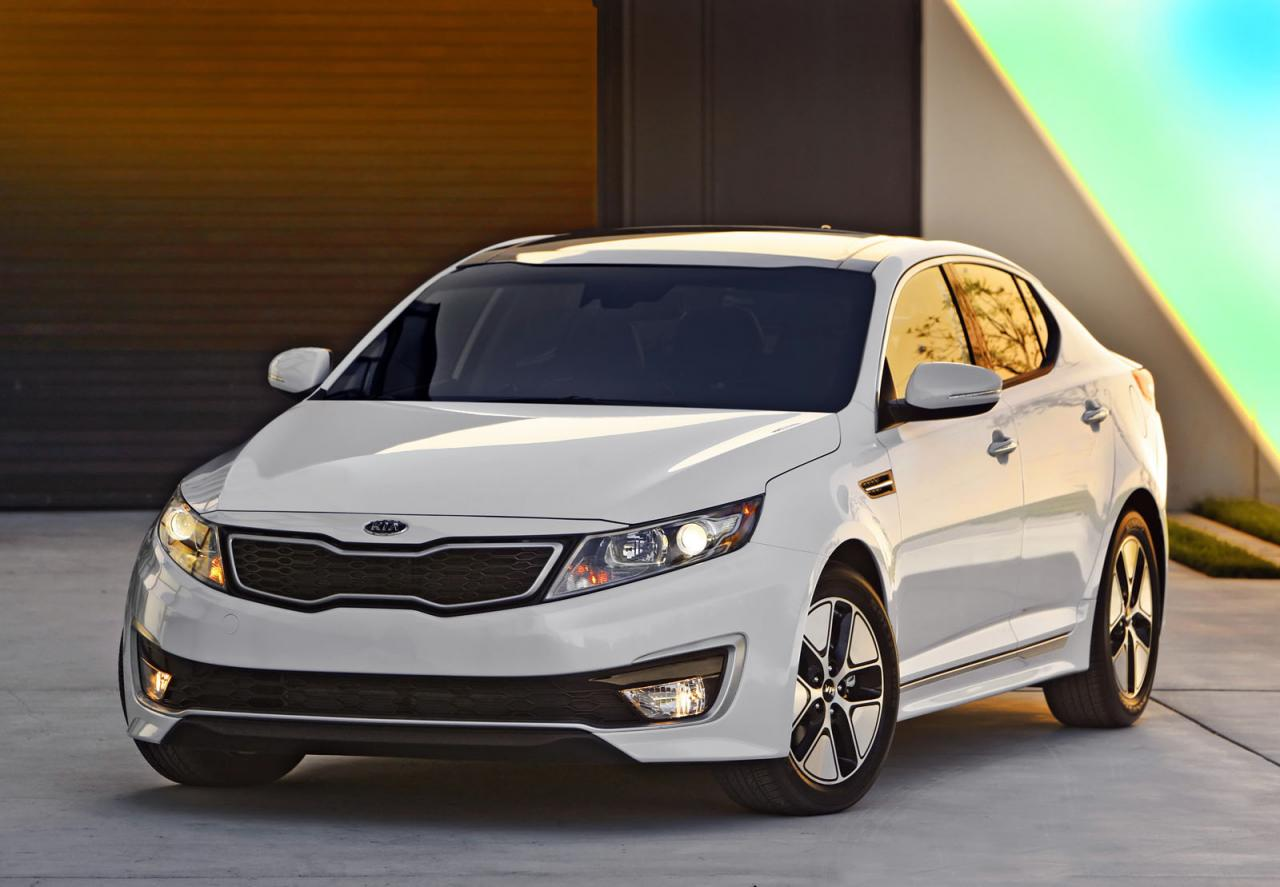 Kia Optima Hybrid revised for 2013