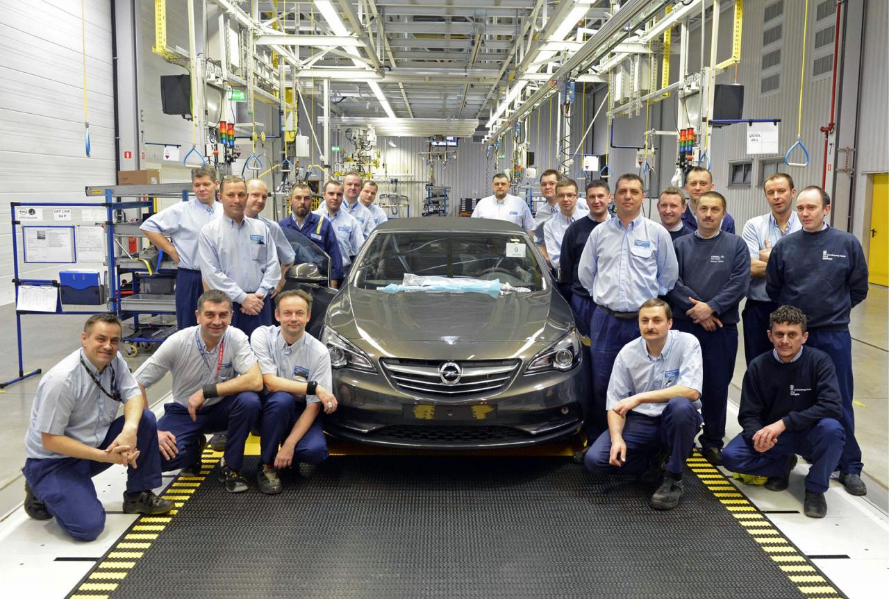 Opel kicks off production for new Cascada