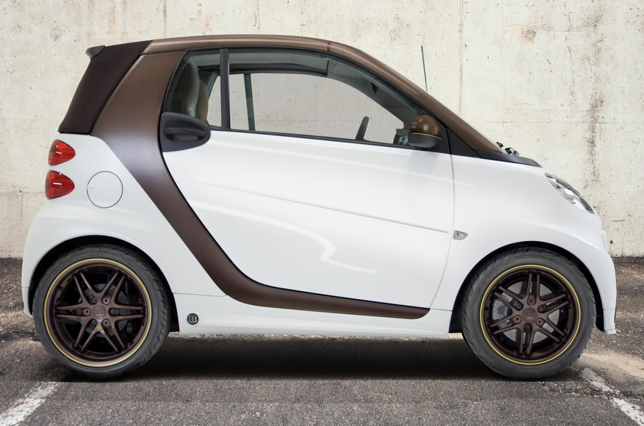Smart reveals new ForTwo BoConcept