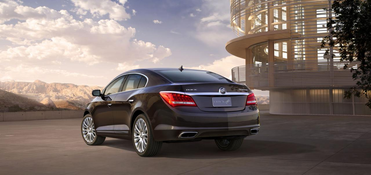 2014 Buick LaCrosse officially revealed