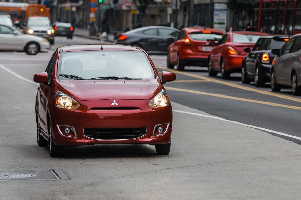 New Mitsubishi Mirage showcased at New York