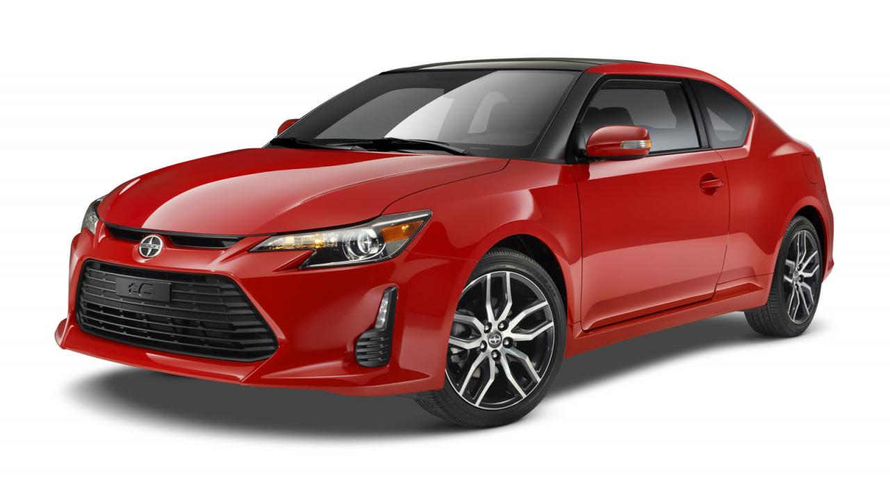 New Scion tC makes debut at New York