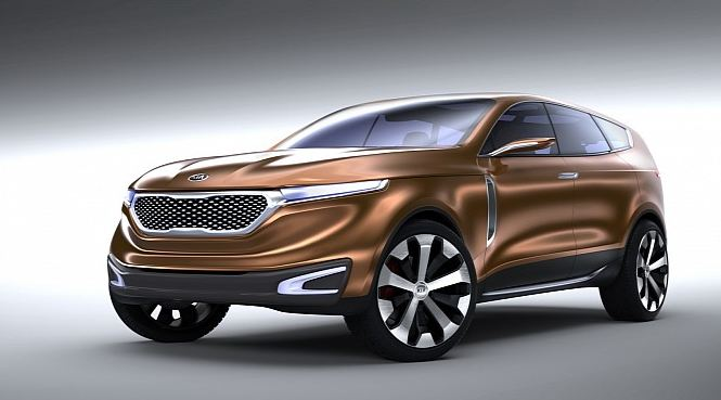 Kia's concept unveiled at Seoul: the Cross GT