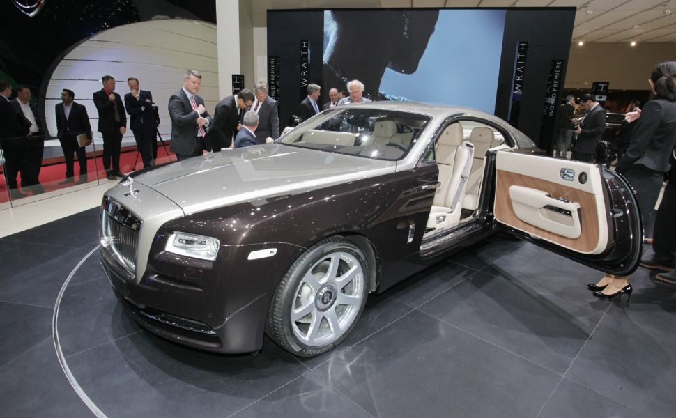 New York presents the Rolls-Royce Wraith
