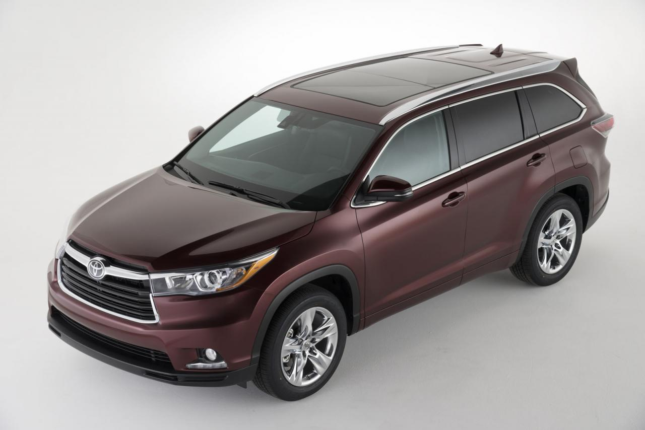 Toyota unveils the 2014 Highlander