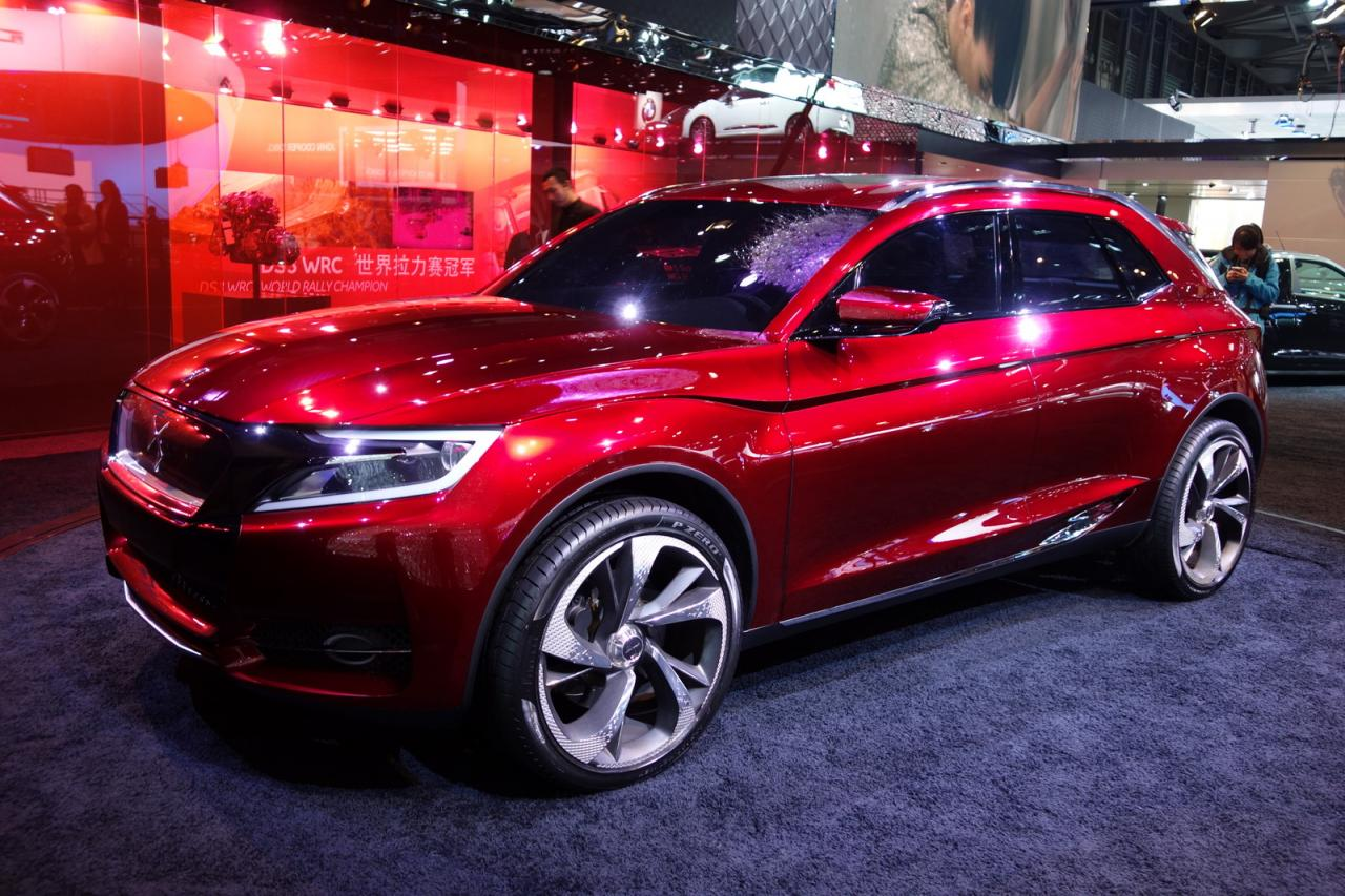 Citroen debuts the DS Wild Rubis Concept at Shanghai