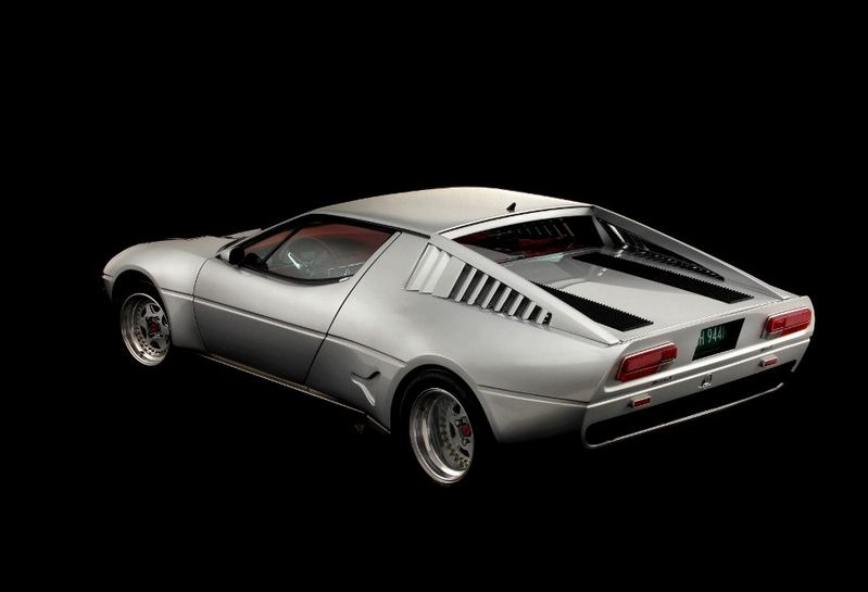 Maserati Merak by Saurer sold in auction