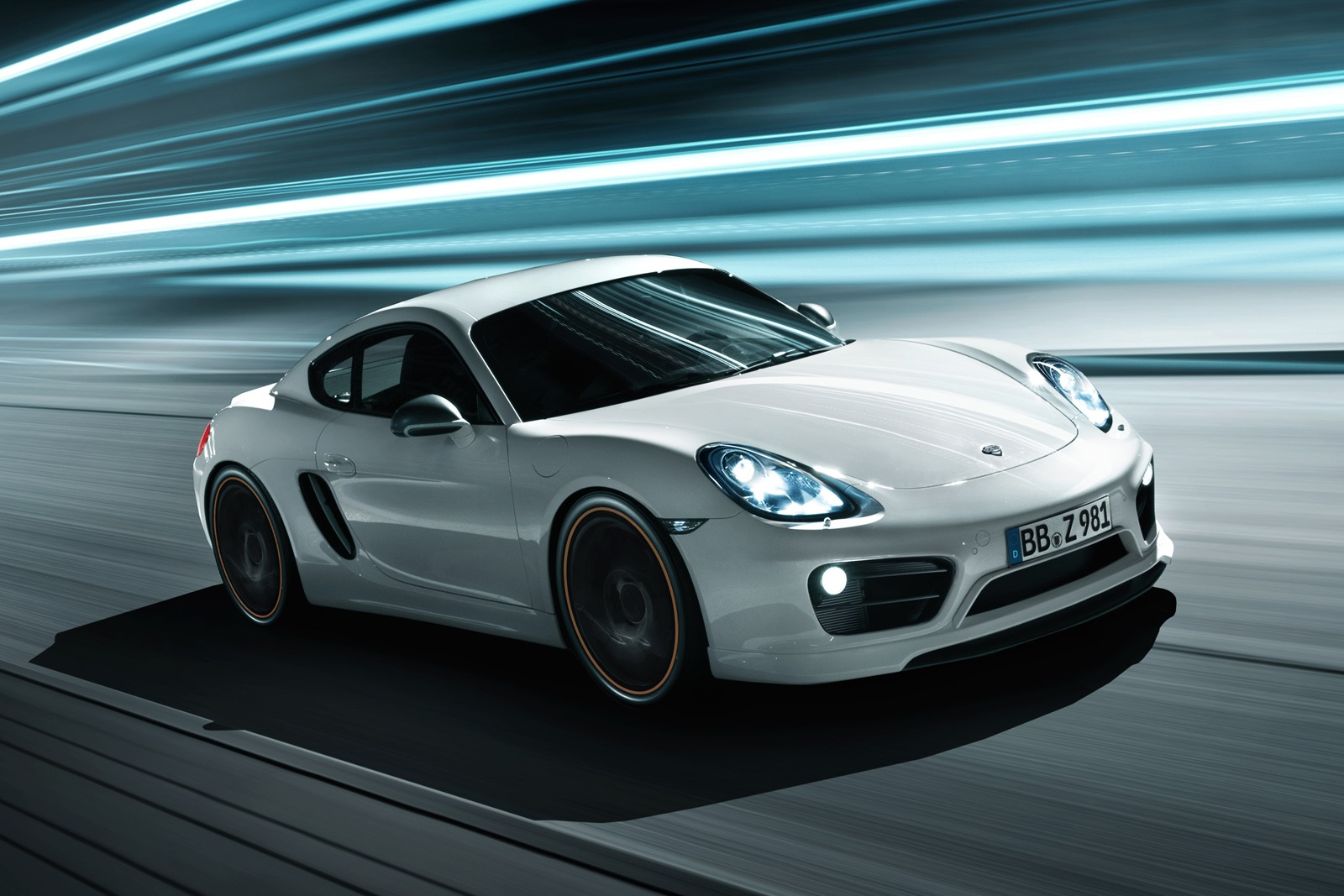 Porsche Cayman Coupe gets some attention from Techart
