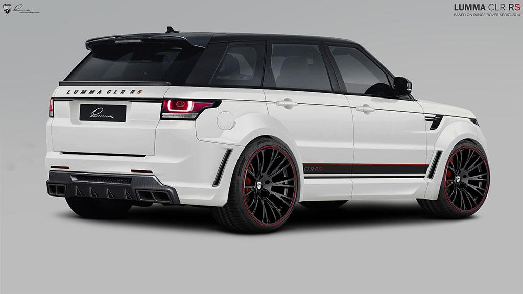 Lumma Design reveals CLR RS kit for the Range Rover Sport