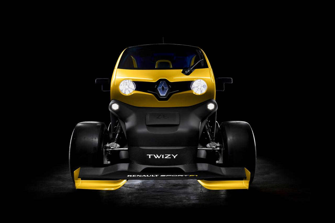 Twizy Renault Sport F1 Concept breaks cover