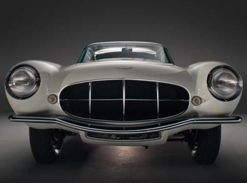 1956 Aston Martin DB2/4 MkII Supersonic auctioned off