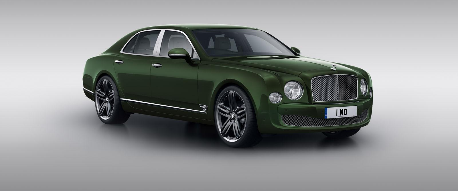 Bentley unveils the Mulsanne Le Mans Edition